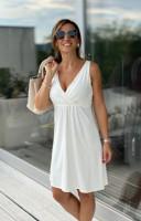 Törtfehér ruha A vonal-IRT25